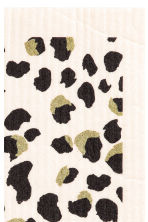 Dishcloth - White/Leopard print - Home All | H&M CA 2
